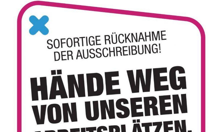 nächste Kundgebung gegen Ausschreibung der Berliner S-Bahn: Freitag, 14. August