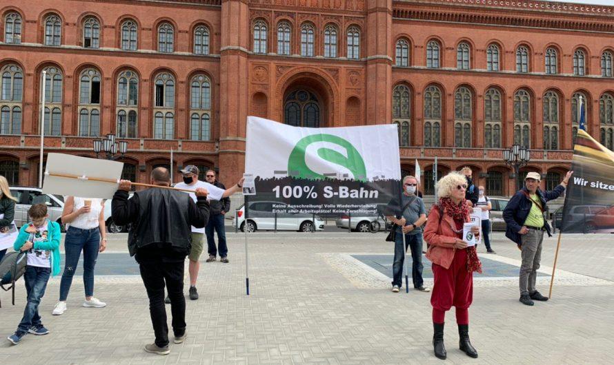 Rücknahme der Ausschreibung der S-Bahn!