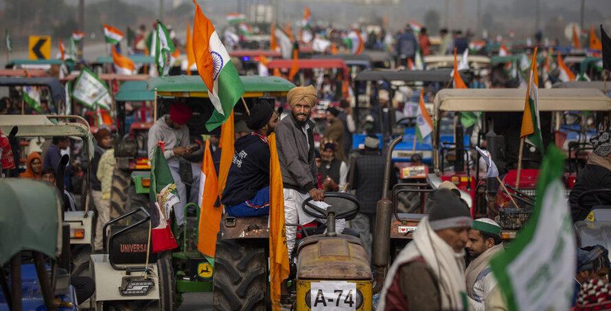 In Indien erschüttert der Aufstand der Bauern die Regierung