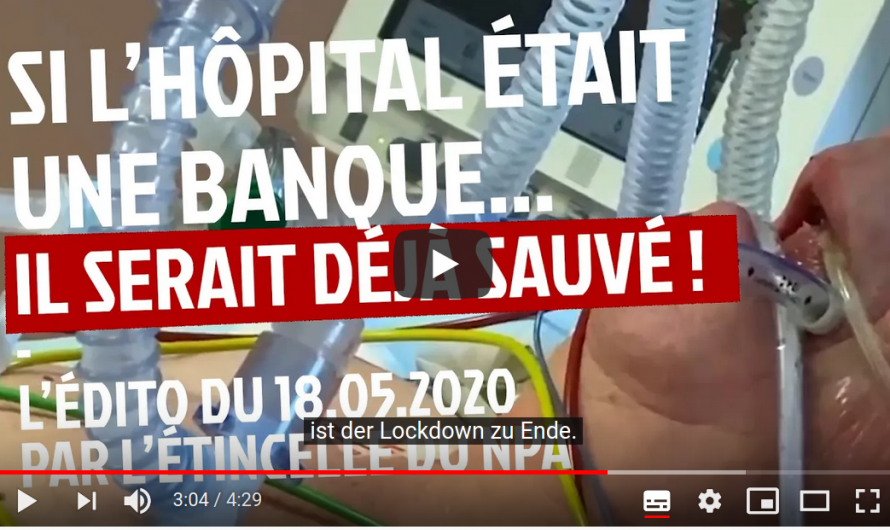 Wäre das Krankenhaus eine Bank, hätten sie es längst gerettet