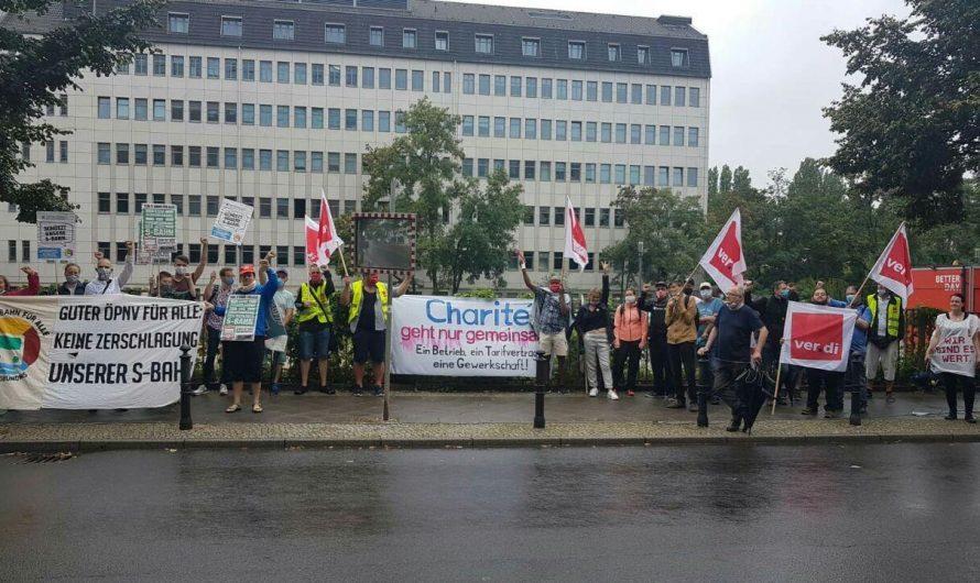 Mal was anderes aus der Charité: Streik-News!