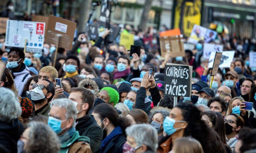 Frankreich, 28. November : Hunderttausende gegen Polizeigewalt!