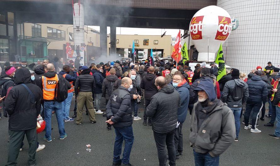 Streik bei der RATP in Paris am 17. Dezember gegen die Ausschreibung: Ein guter Auftakt