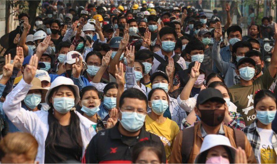 Myanmar – Arbeiter:innen gegen den Militärputsch