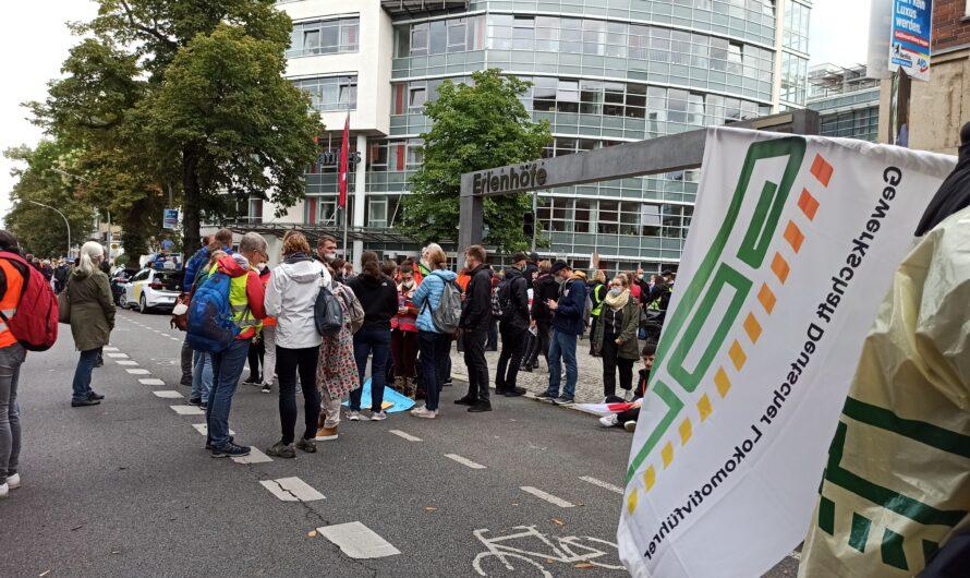 Streiktag 23. August in Berlin