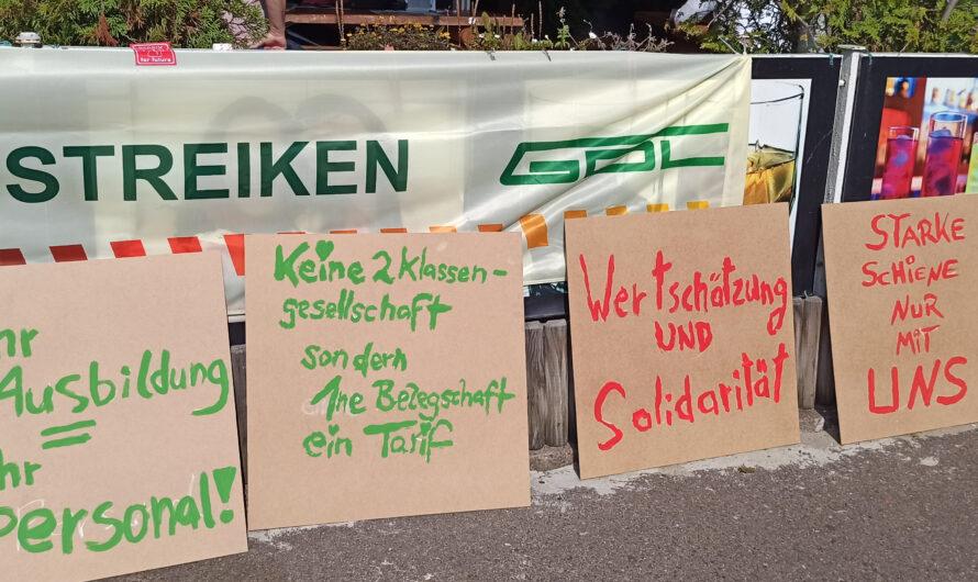 Streiktag in Berlin: Vorbereitung auf die Große Fahrraddemo